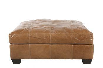 Terrific Jonathan Louis Riley Leather Ottoman Leather Ottoman Evergreenethics Interior Chair Design Evergreenethicsorg