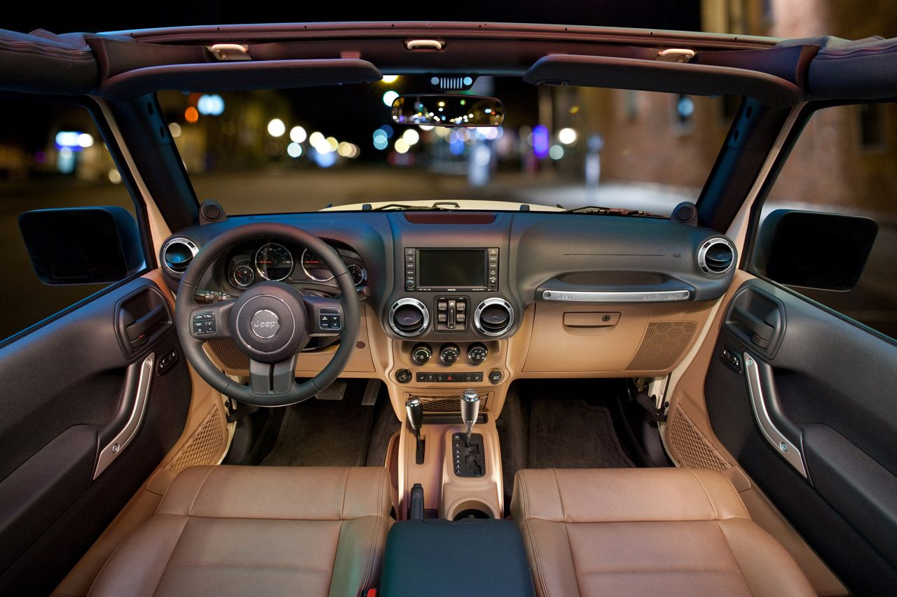 The New Jeep Interior...quite The Change From The '92 I