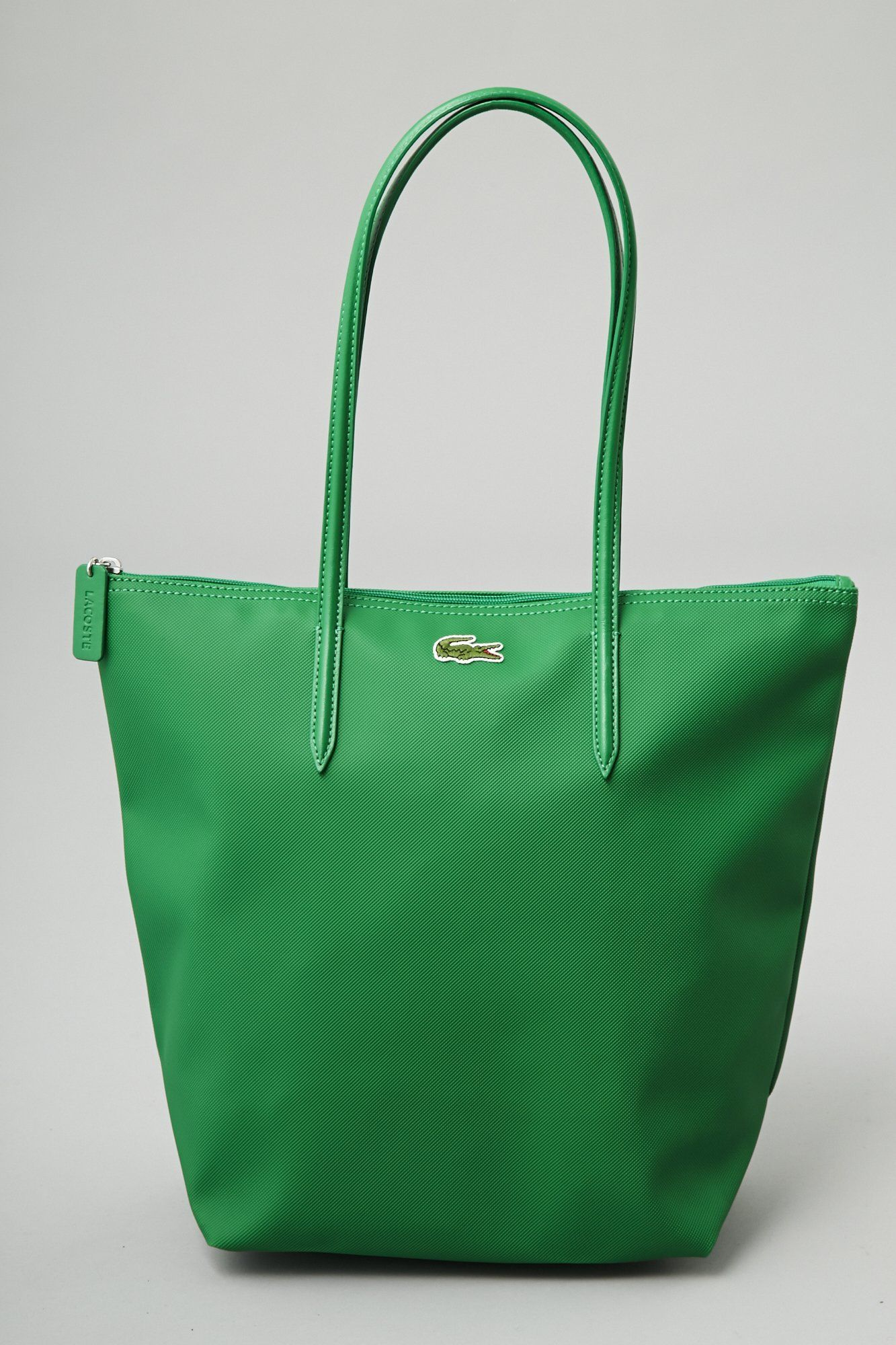 Lacoste  Green  bag from the new  Rio collection  TheCrocGoesToRio Service  bag but in a tan red brown black color f958e11f5e