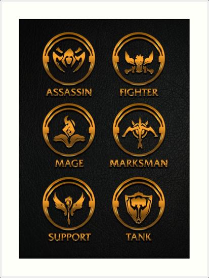League Of Legends Roleplay Teambuilder Gold Emblems By Naumovski Seni Seni Anime Sketsa