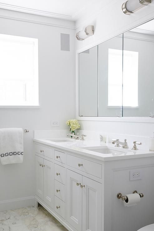 Website With Photo Gallery White Shaker Double Bathroom Vanity Transitional Bathroom
