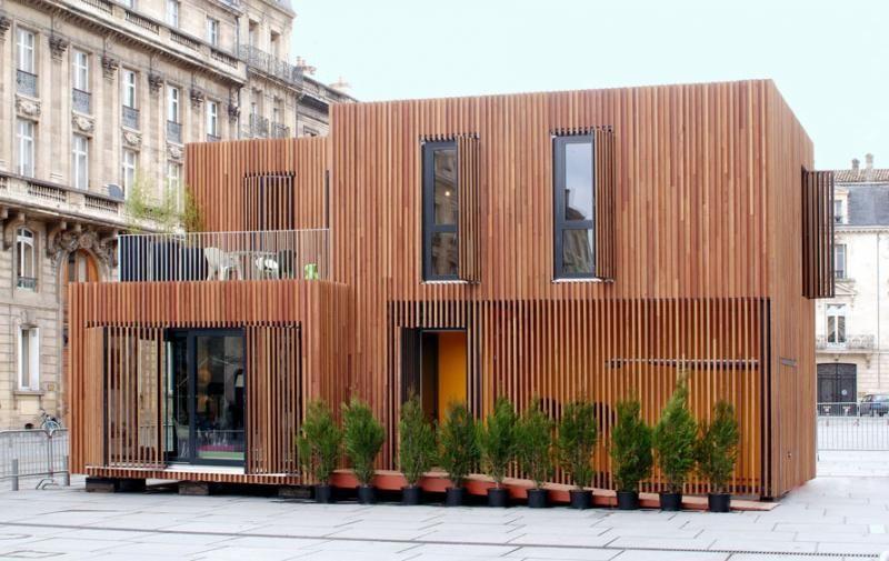 Algeco brenac gonzalez hous 39 contener design for Maison modulaire design