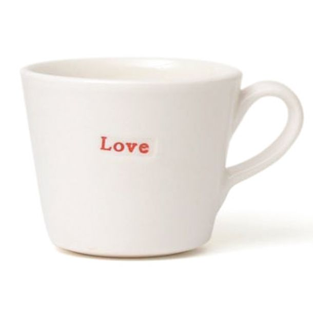 Love Bucket Mug Set Keith Brymer Jones