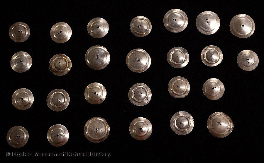 Florida Ethnographic Collection: Silver bangles, Seminole, mid-20th century.