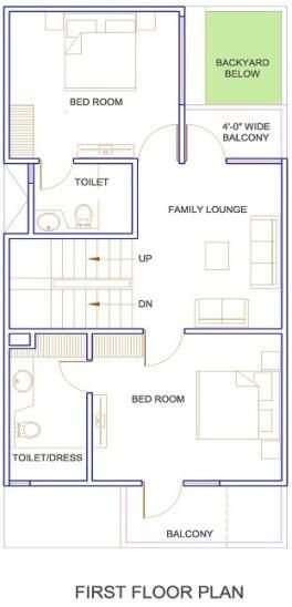 Duplex Floor Plans Indian House Design Map