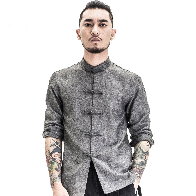 Traditional-Chinese-Clothing-Men-Shirts-Fashion-Trends ...