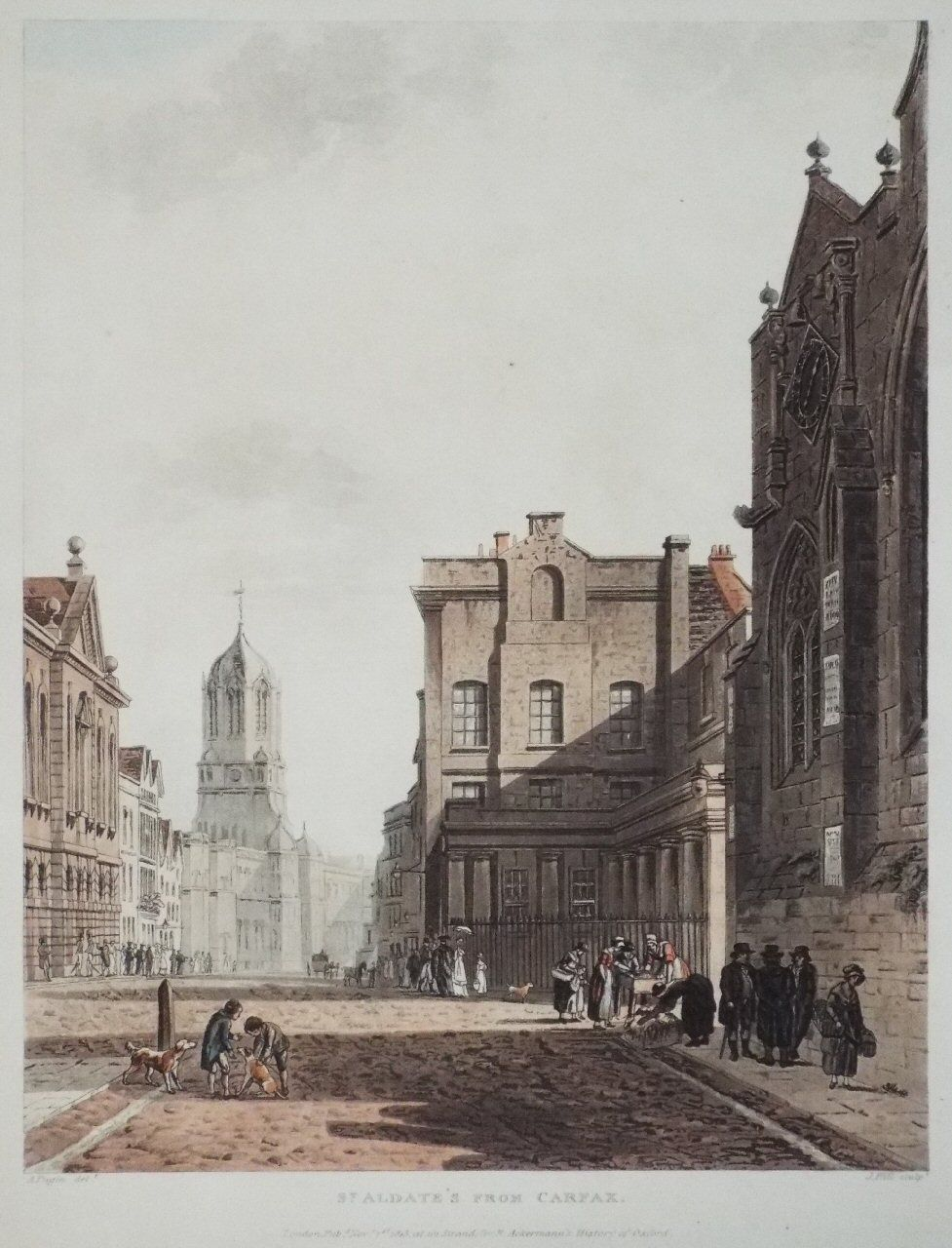 St. Aldate's from Carfax, 1813