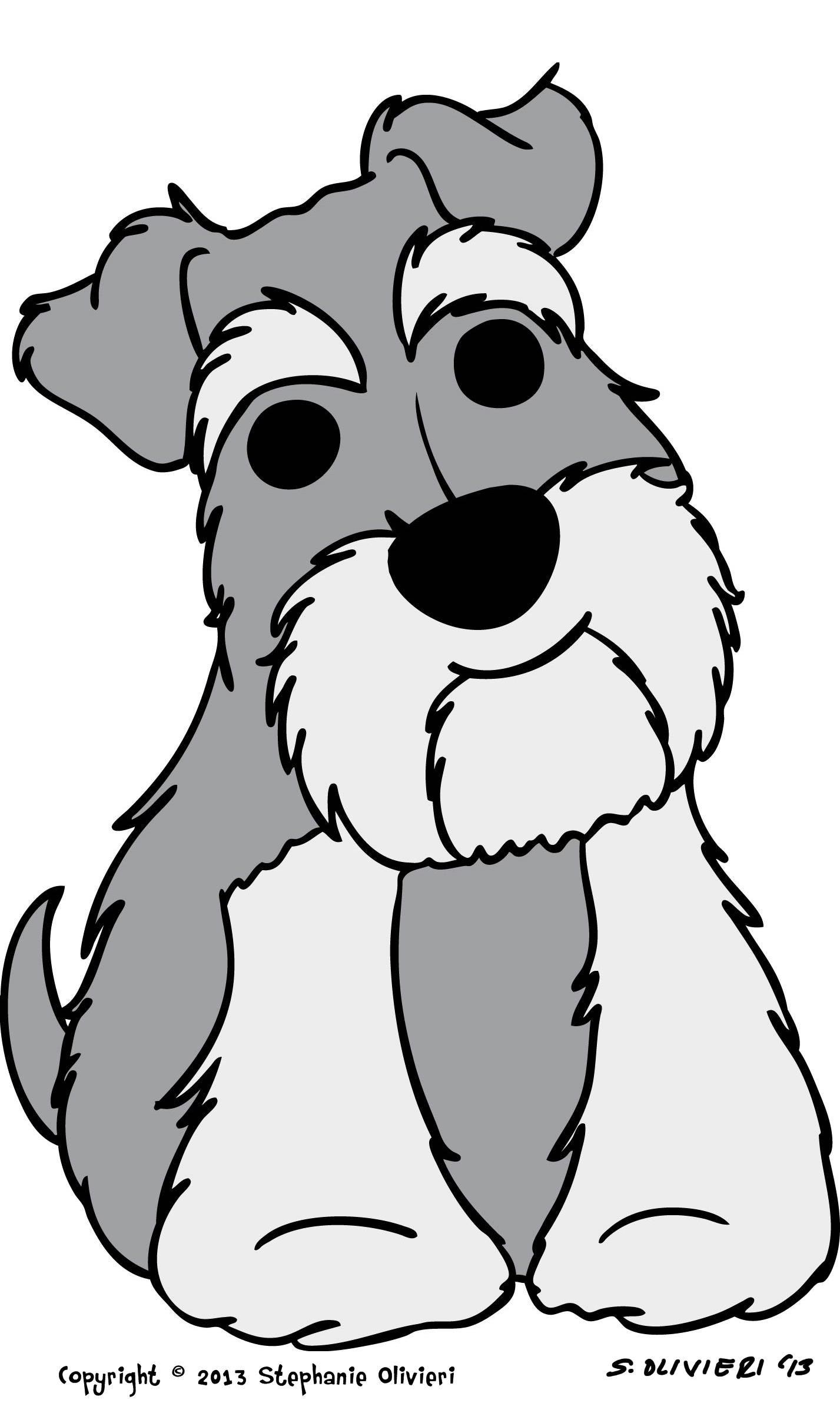 New Schnauzer design! | Schnauzers | Pinterest | Dog, Mini schnauzer ...