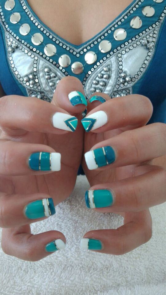 Xalapa ver. Mexico Gelish design.   nails   Pinterest   México y ...
