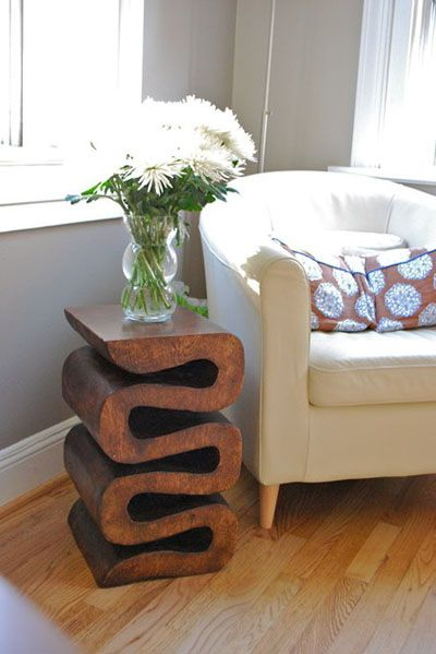 Hardcarved Wooden Table Via Dining Delight