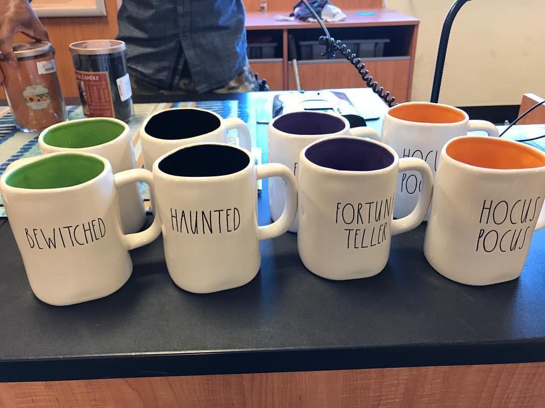 rae dunn halloween mugs #raedunn   rae dunn in 2018   pinterest