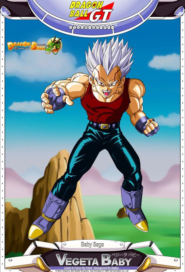 Dragon Ball Gt Vegeta Baby Dragon Ball Gt Anime Dragon Ball Super Dragon Ball