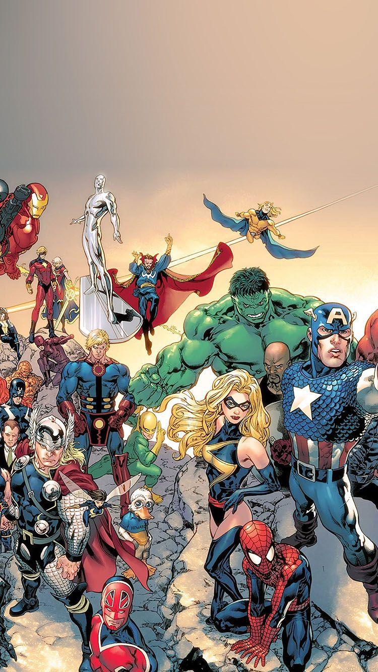 Aa95 Wallpaper Comic Characters Illust Marvel Iphone Wallpaper Marvel Comics Wallpaper Marvel Comic Book Characters