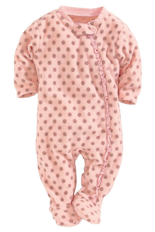 d938058ced0e Newborn Sleepwear - Baby Sleepwear and Infantwear - Next Spot Fleece ...