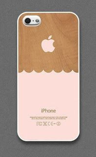 Wooden Scallop iPhone Cover from Evon Case, phone, phone case, phone cover, scallop, scallop phone case, scallop phone cover, iphone