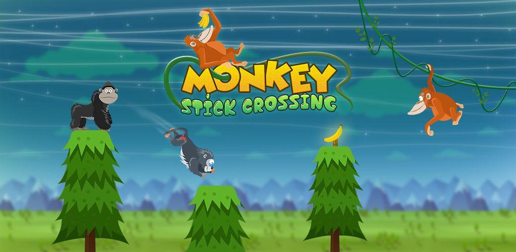 Monkey stick crossing mobile game app monkey games