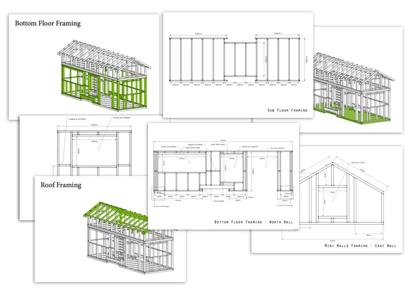 Tiny House Building Plans | Simple How To Build A Tiny House Tiny Houses Tiny House Plans