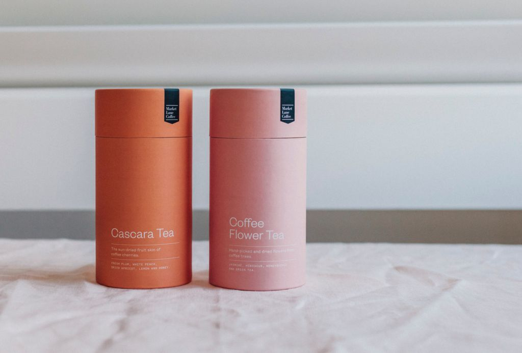 Market Lane Coffee is a premium coffee brand that sources and roasts specialty coffee from single farms, estates and cooperatives. The introduction of their Cascara (coffee berry) and Coffee Flower Tea allowed us to create a unique pack that sits well within the brand aesthetic and complements the coffee range. #teapackaging
