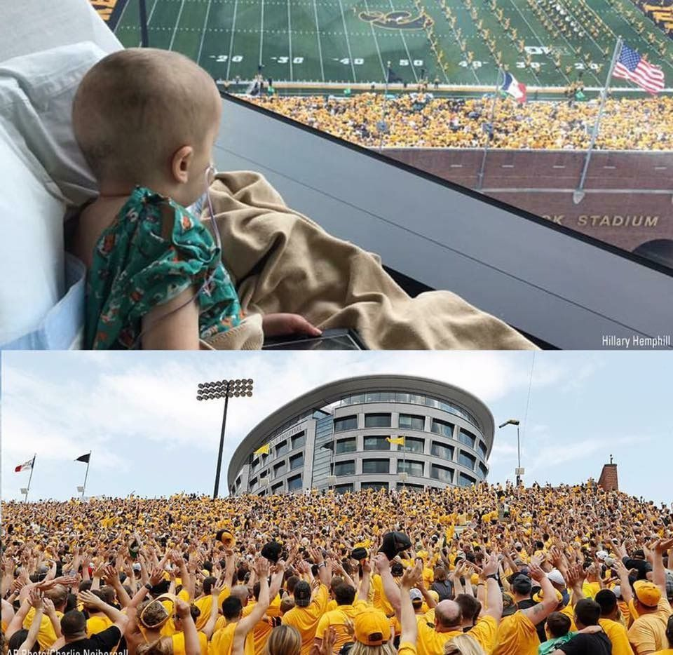 The Iowa Hawkeyes Have Built A Hospital For Children That Faces