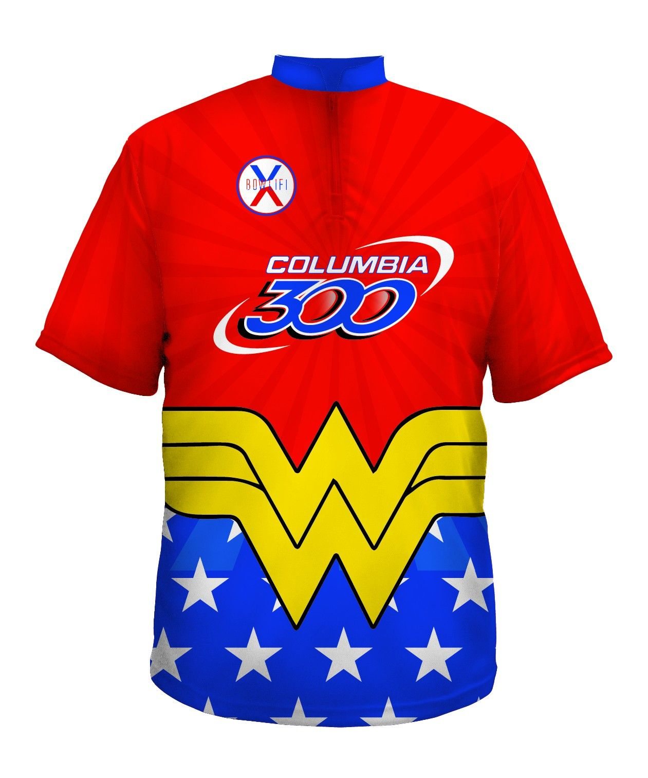 60c27ff9b Bowling Jerseys Wonder Woman - All Designs - Existing Designs - Shop Bowlifi