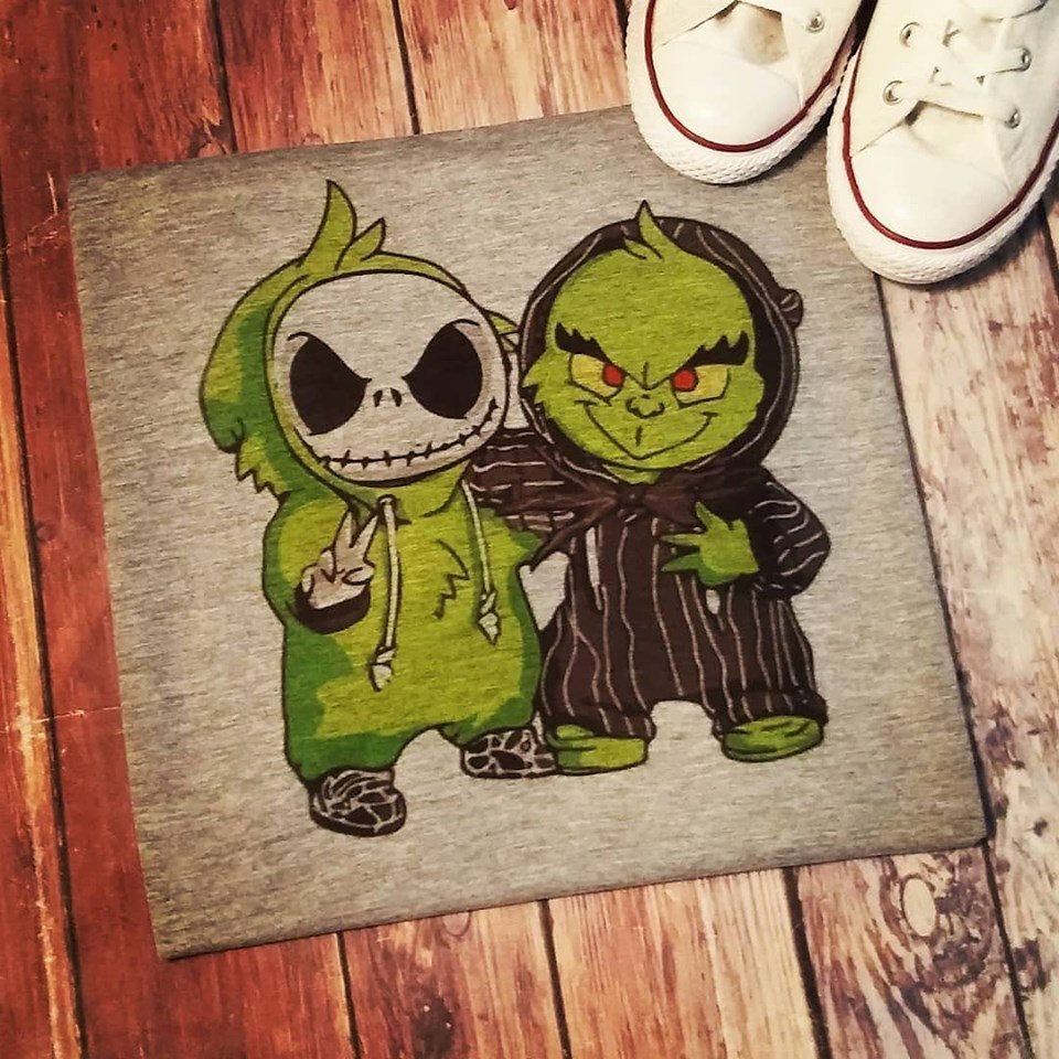 Merry Christmas, Jack Skeleton, Grinch, holiday apparel