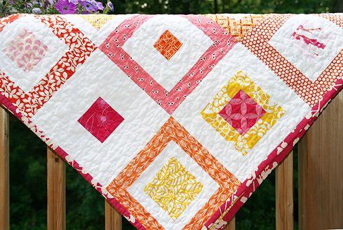 Lemon Squares Quilt Pattern from Fresh Lemons