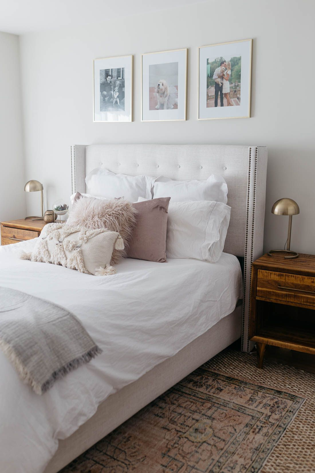 Master bedroom gallery wall  BEDROOM INTERIOR UPDATE  newhome  Pinterest  Gallery wall Master