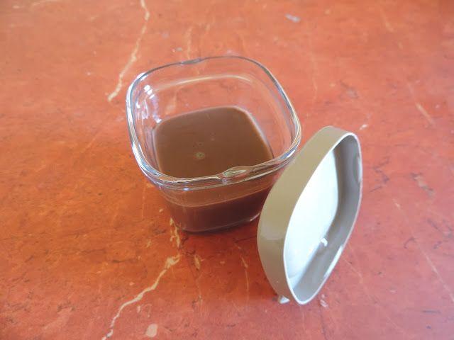 Les Petits Plats de Vanessa: Crème au chocolat style La laitière (Cook'in)
