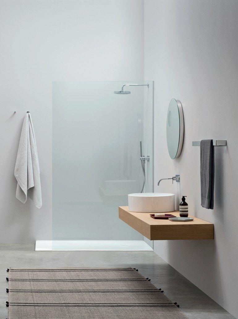 Countertop round ceramic washbasin OVVIO | Round washbasin by Nic Design