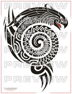 awesome aztec tribal eagle tattoo design tattoo idea aztec mayan inca pinterest tribal. Black Bedroom Furniture Sets. Home Design Ideas