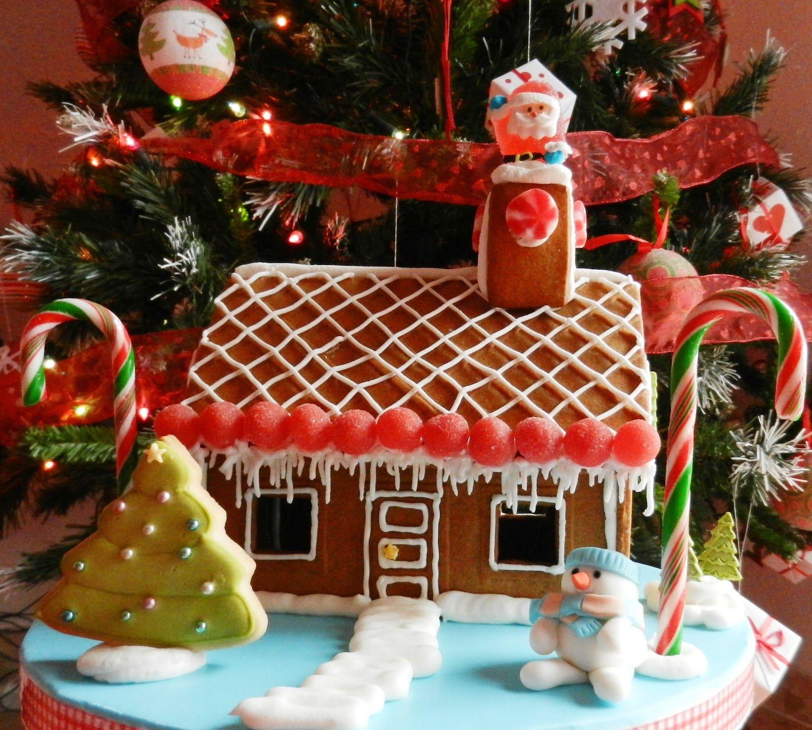 gingerbread houses pictures | Gingerbread House & Sorteo del Libro de Alta Costura