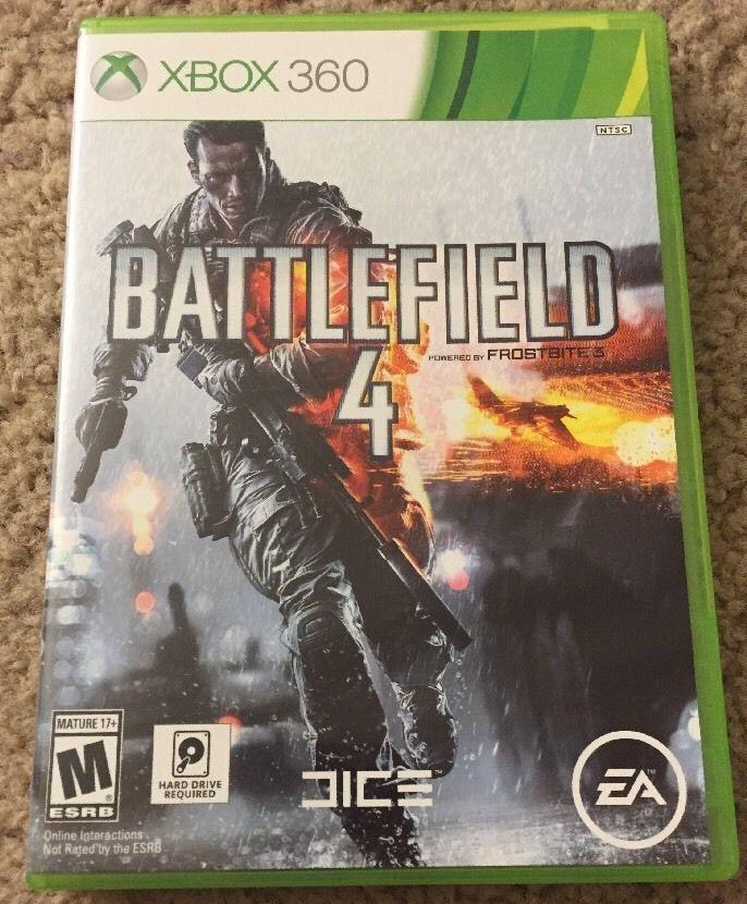 Battlefield 4 Microsoft Xbox 360 2013 Battlefield 4