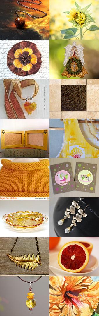 The Yellow November Secret by Asta on Etsy--Pinned with TreasuryPin.com