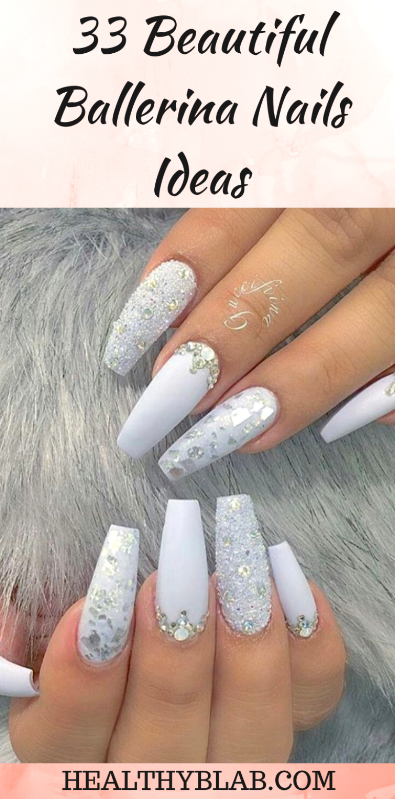 Ballerina Nails That Are Also Referred To As Coffin Nails Are Stiletto Nails In Their Essence But Ballerina Nails Designs Ballerina Nails Coffin Nails Designs