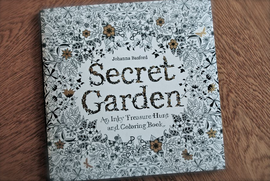 The Secret Garden Colouring Book By Johanna Basford