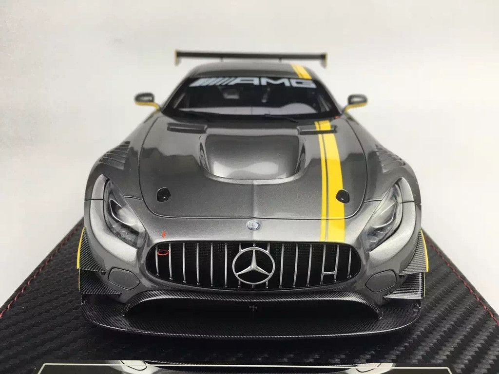 Carloverdiecast mercedes benz amg gt3 resin model 1 18 by avanstyle frontiart