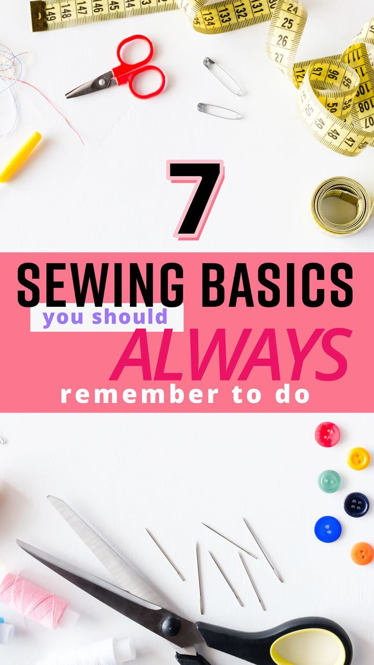 Skip these steps and you could ruin your next sewing project! Here are some sewing basics you have to keep top of mind. How many did you guess? #sewingbeginner