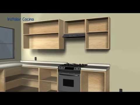 Como Hacer Muebles De Cocina Módulos De Melamina Bajo De