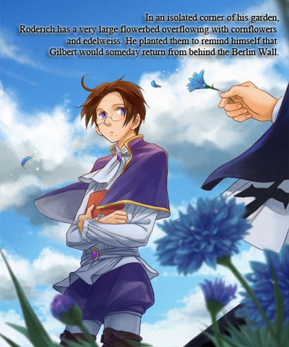 PruAus Headcanons - In an isolated corner of his garden, Roderich has...