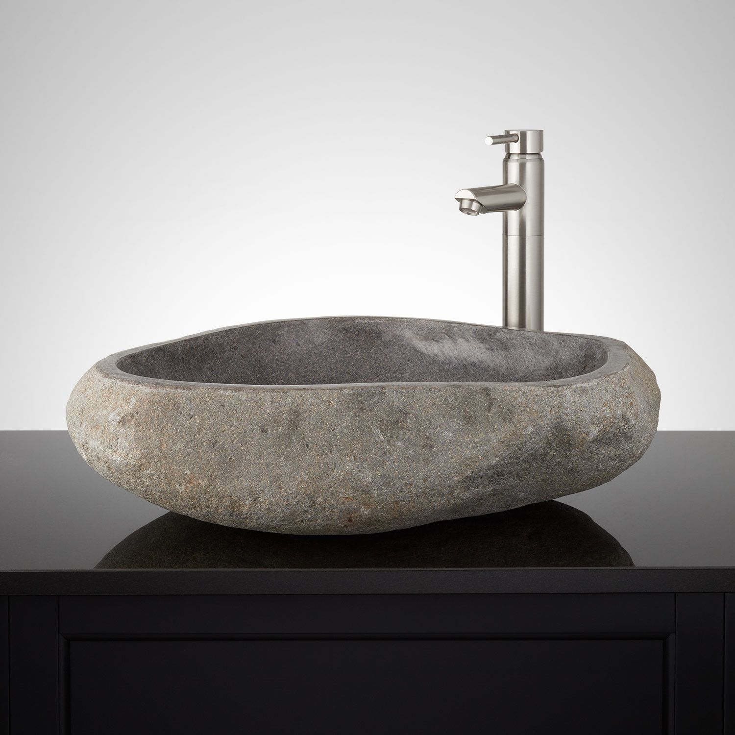 Griffin Natural River Stone Vessel Sink Stone Vessel Sinks Sink