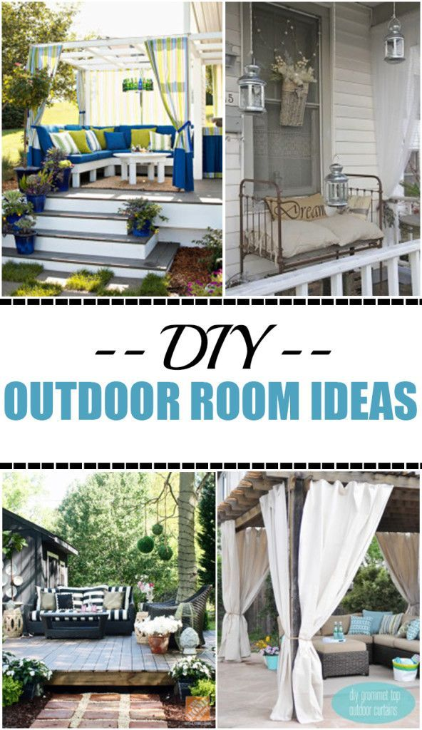 DIY Outdoor Room Ideas On A Budget