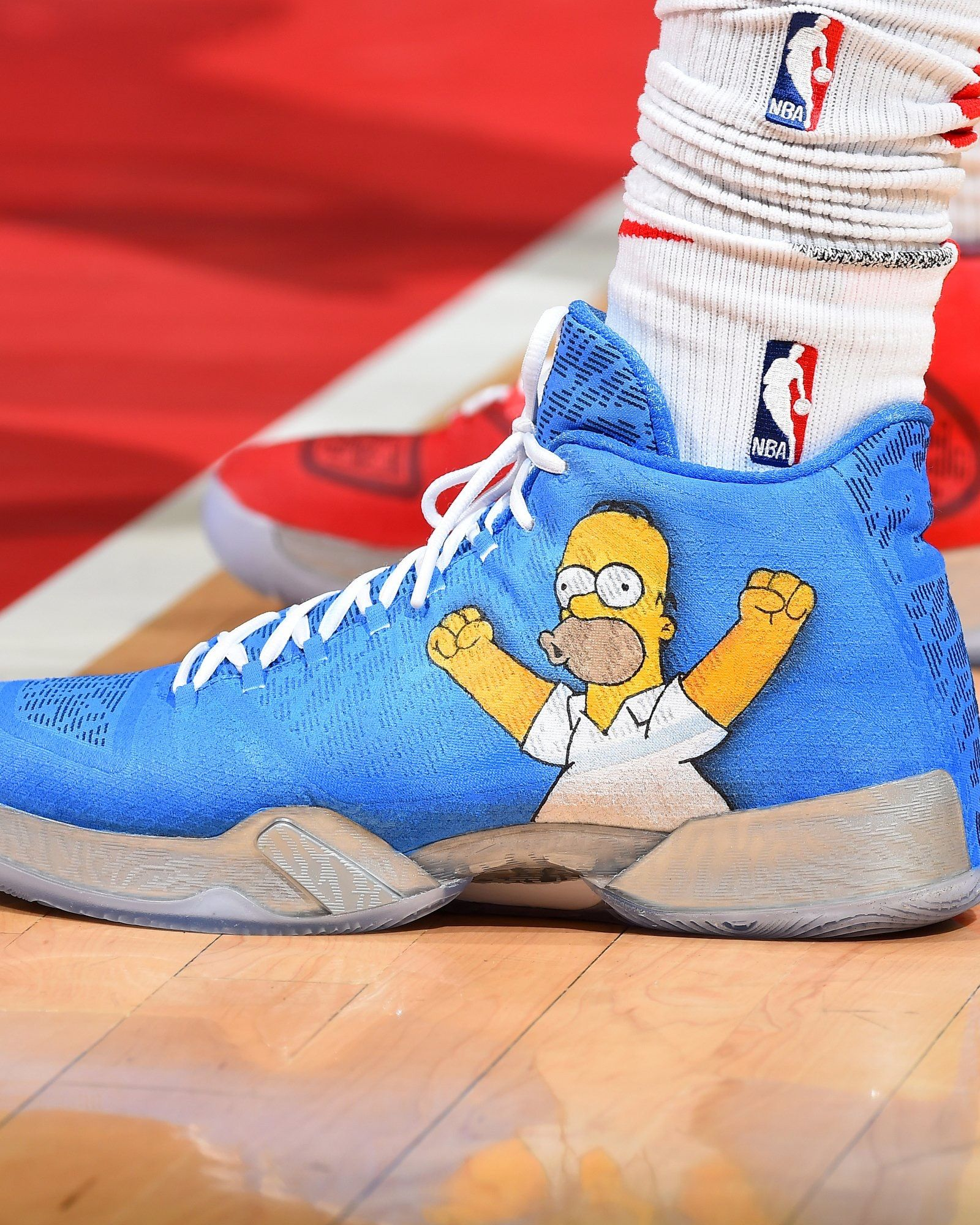 "pretty nice 9af54 f9f6e The Air Jordan XX9 in the ""Simpsons"" colorway! (By Kickstradomis)"