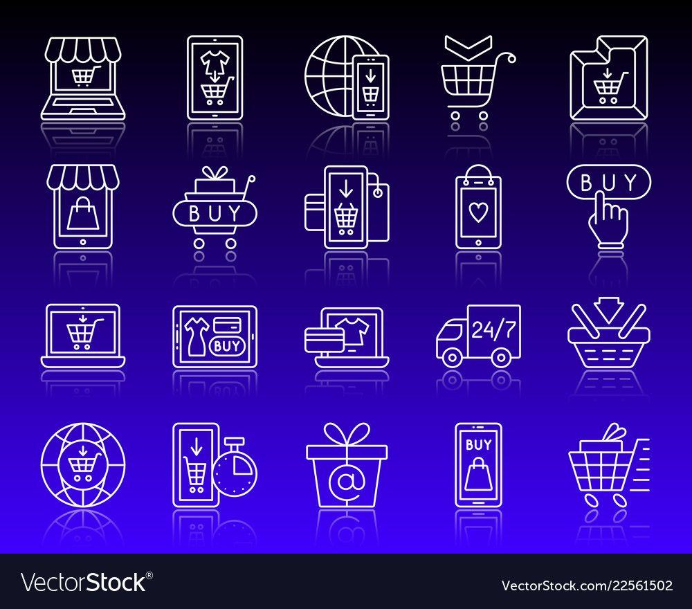Pin by Ana Rivero on dis3nho Line icon, Icon set, Outline