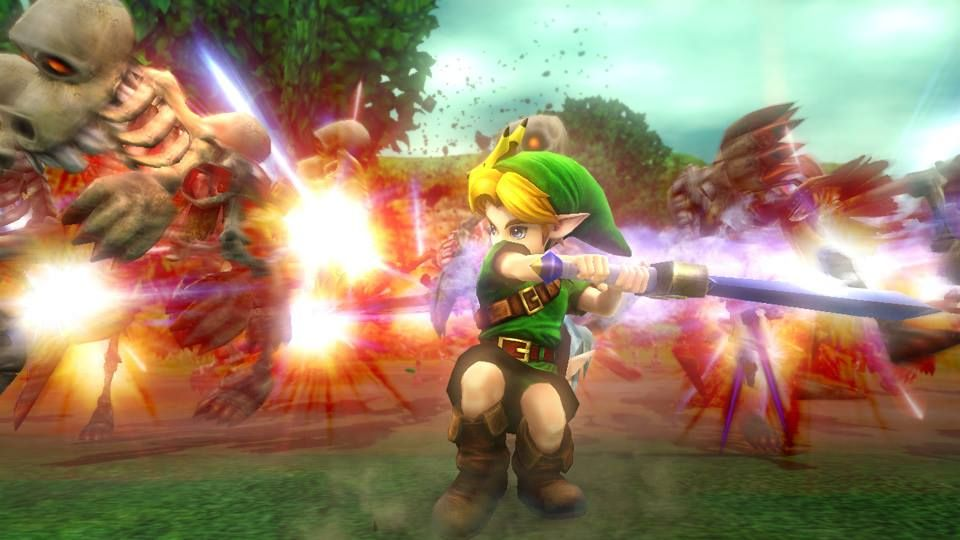 Young Link Playable In Hyrule Warriors Majora S Mask Pack Available Today Wiiu Majora Dlc The Legend Of Zelda