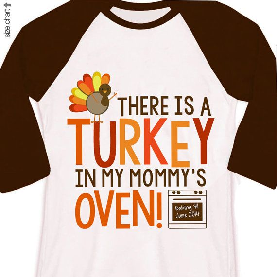 thanksgiving big brother or big sister shirt - turkey in mommy\u0027s