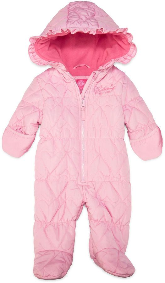 1d53223ba Weatherproof Girls Heavyweight Quilted Snowsuit-Baby | Products ...