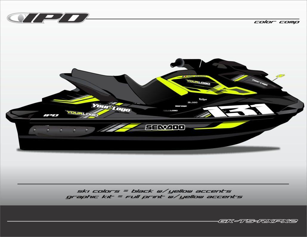 Sea Doo Gts Gti Gtr Graphics Kit Rm Design Ipd Jet Ski Graphics Jet Ski Seadoo Gti