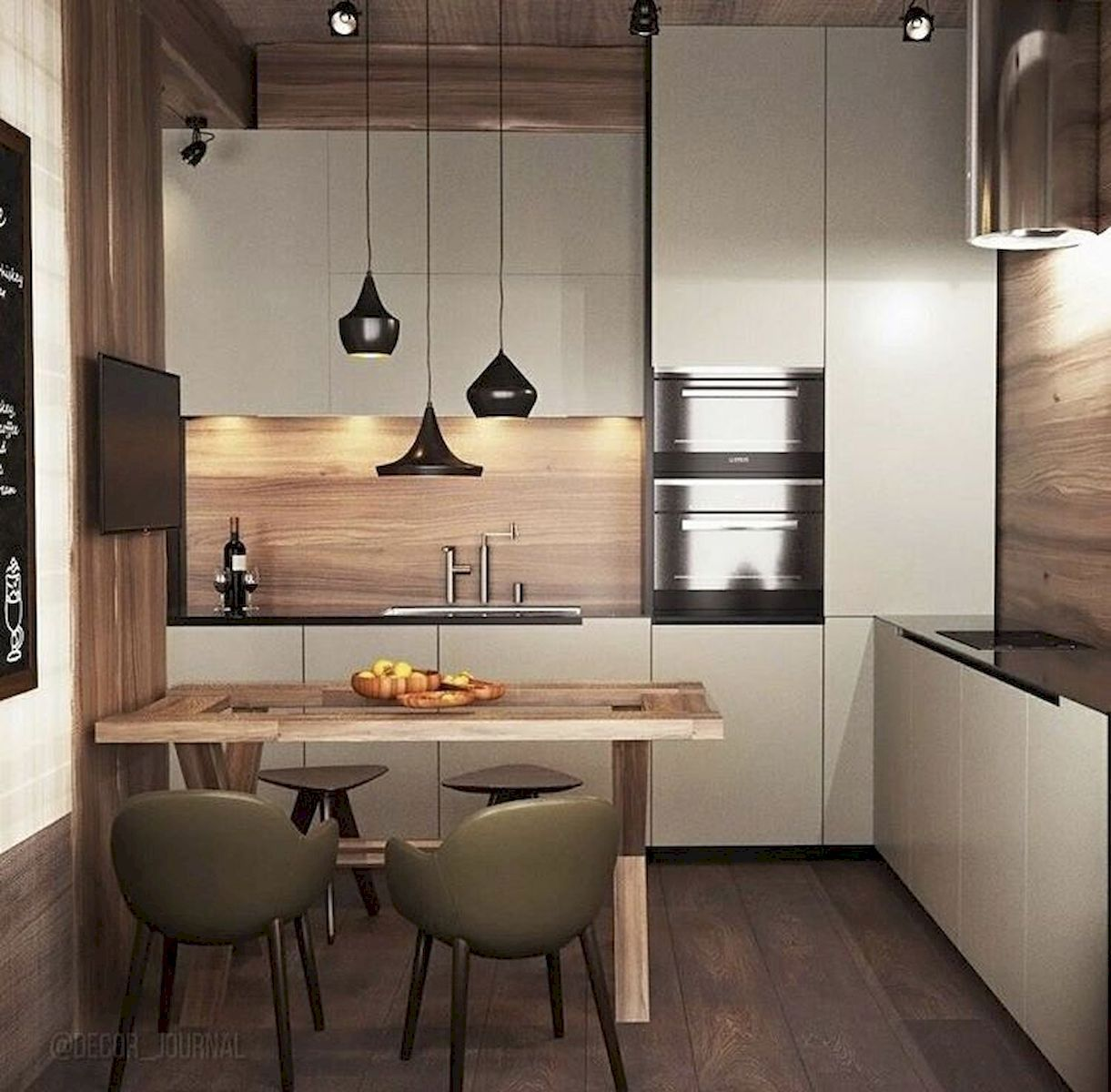 30+ Minimalist But Luxurious Kitchen Design #smallkitchendesigns