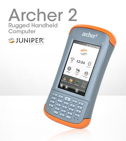 Juniper System S Archer 2 Handheld Computer Is An Ultra Rugged Device Built To Outlast The Competition In Both Durability And Ba Handheld Battery Life Computer