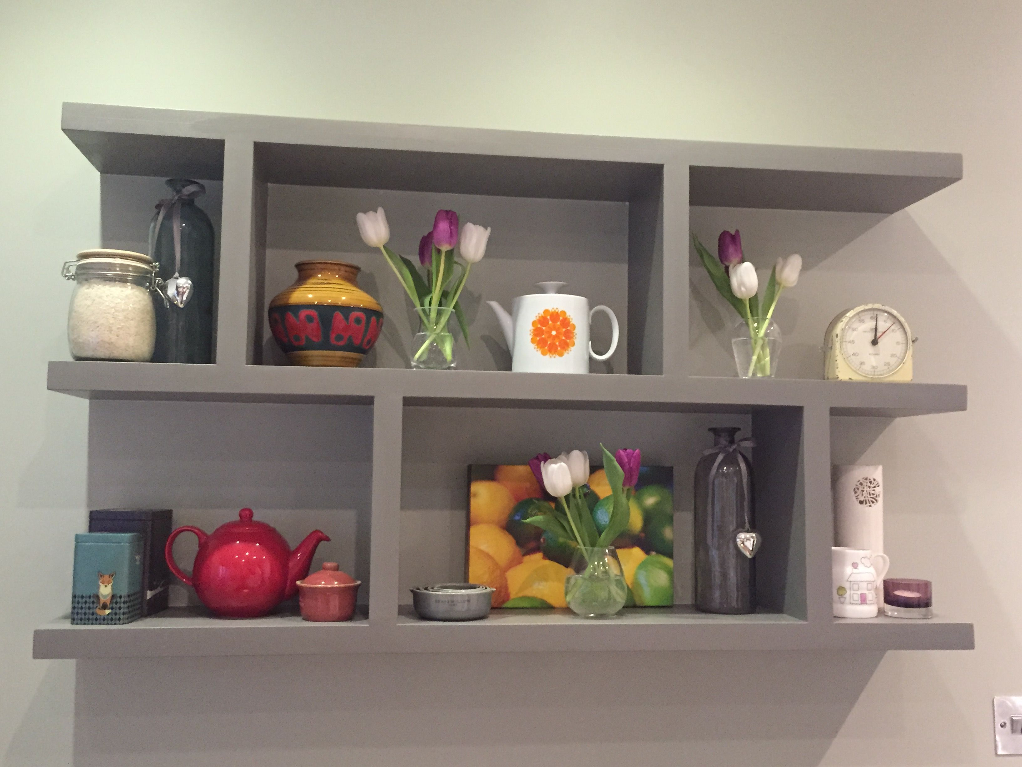 Best New Kitchen Shelves Painted In Farrow And Ball Mouse S 400 x 300